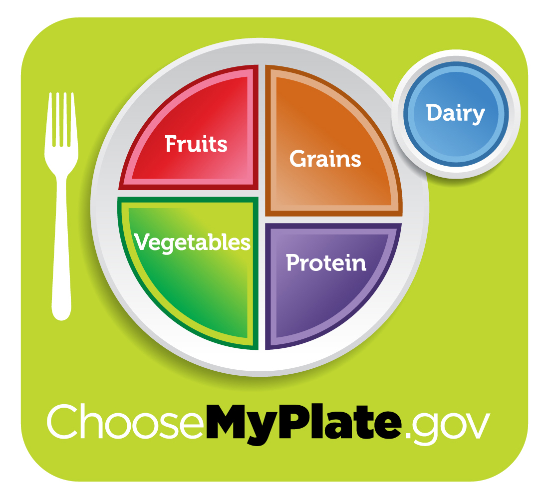 A Healthy Plate from ChooseMyPlate.gov
