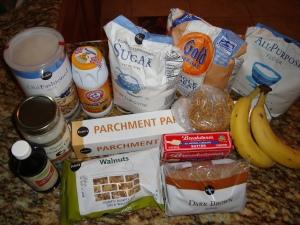 Ready to make oatmeal cookies!