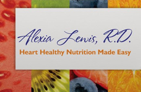 Alexia Lewis RD - Heart Healthy Nutrition Made Easy