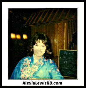 Alexia in Kimono 1986