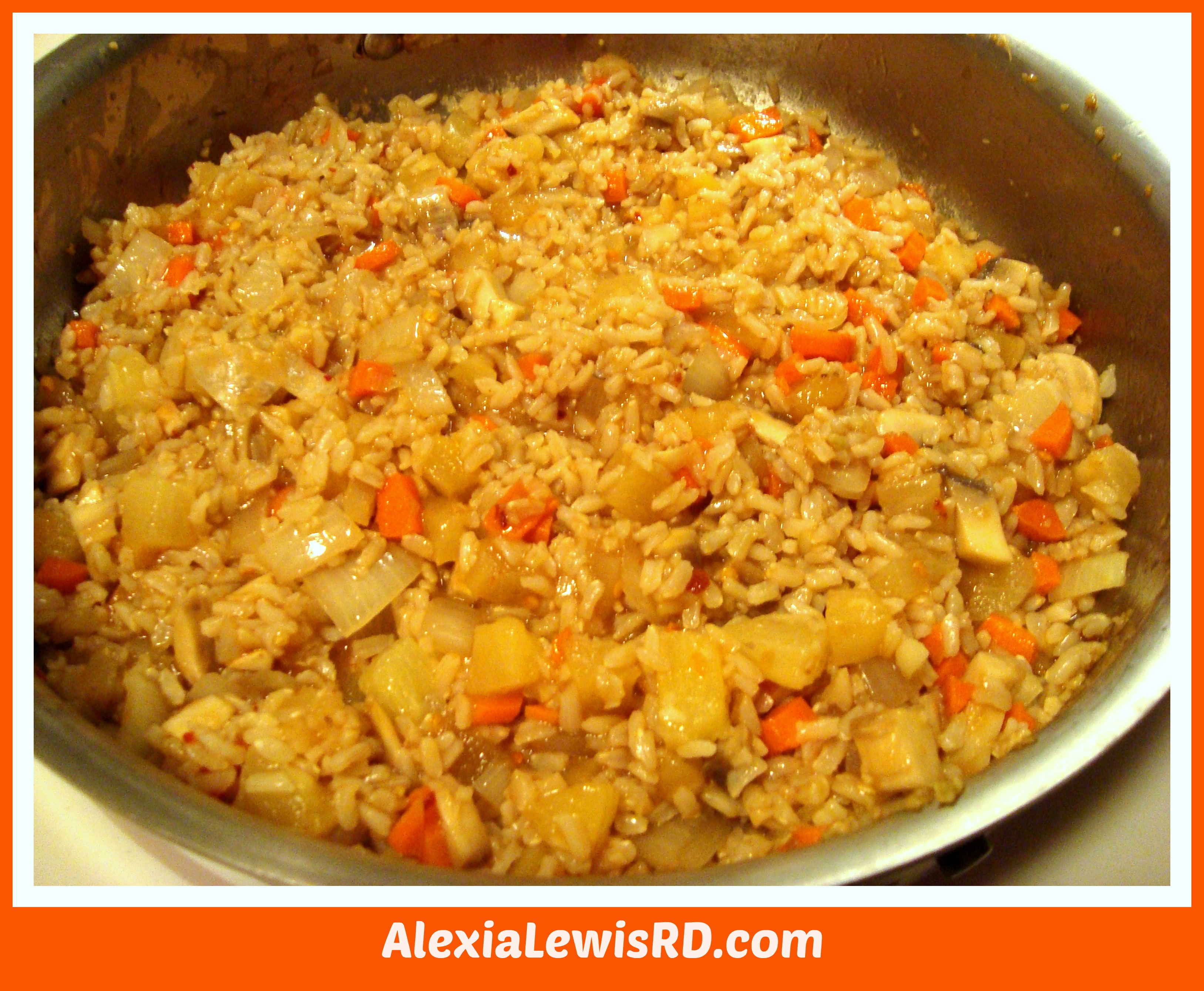 ... Plan: Baked Panko Shrimp and Pineapple Fried Rice | Alexia Lewis R.D