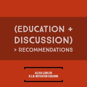 education plus discussion
