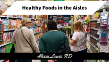 Walking the Aisles Talking about Food